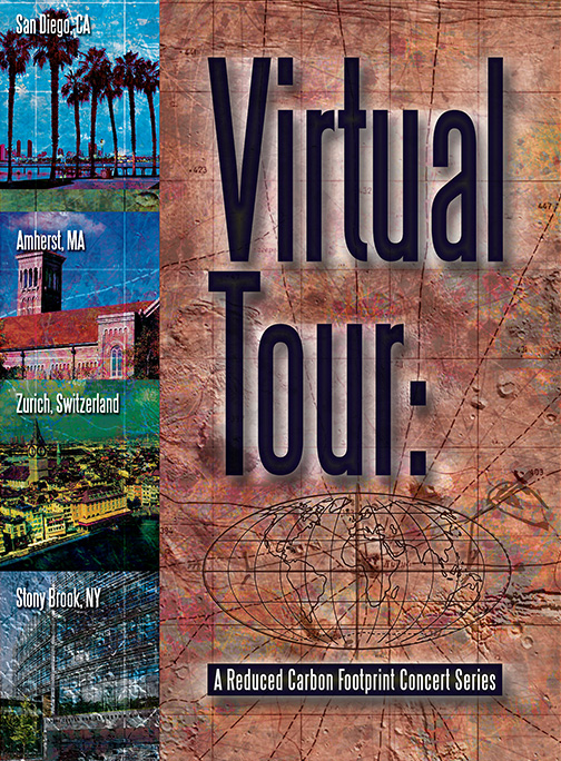 Virtual Tour: A Reduced Carbon Footprint Concert Series. Featuring Mark Dresser, Michael Dessen, Nicole Mitchell, Sarah Weaver, Gerry Hemingway and more.